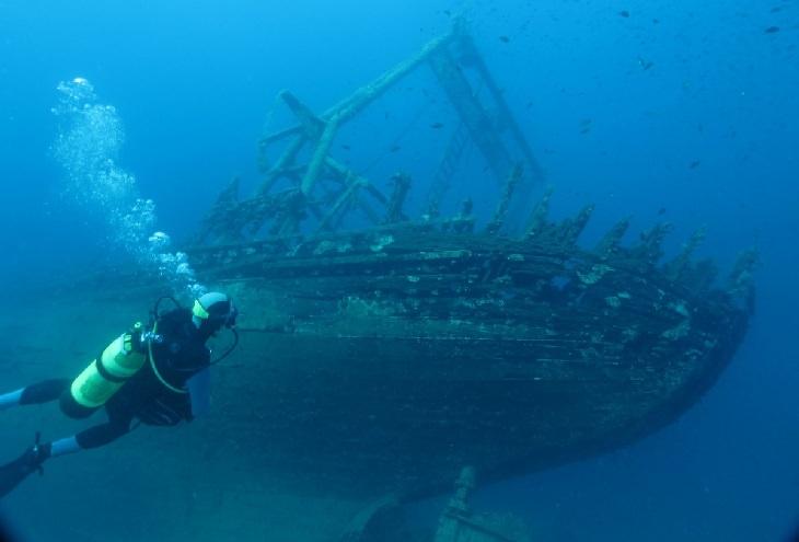 Cousteau: shipwreck