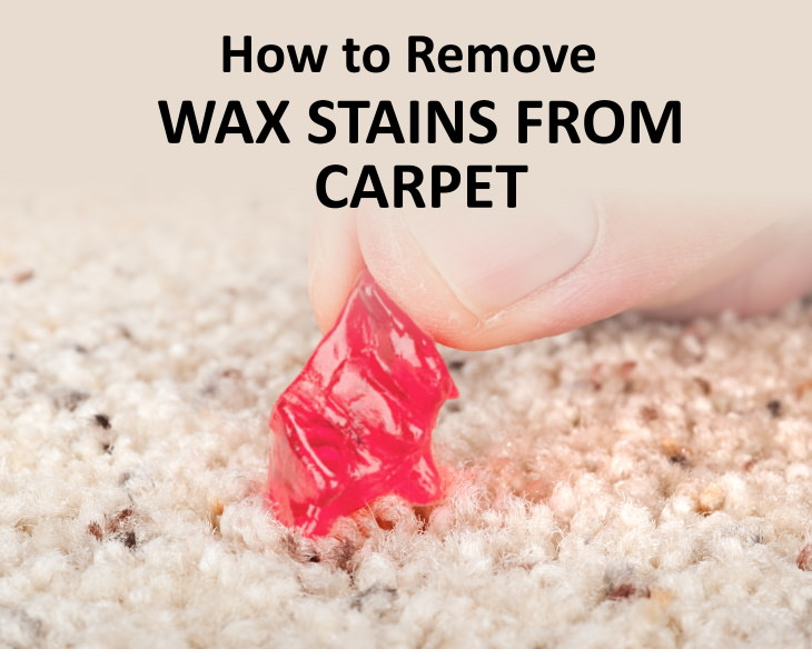 wax stains How to Get Wax Out of Fabric or Carpet