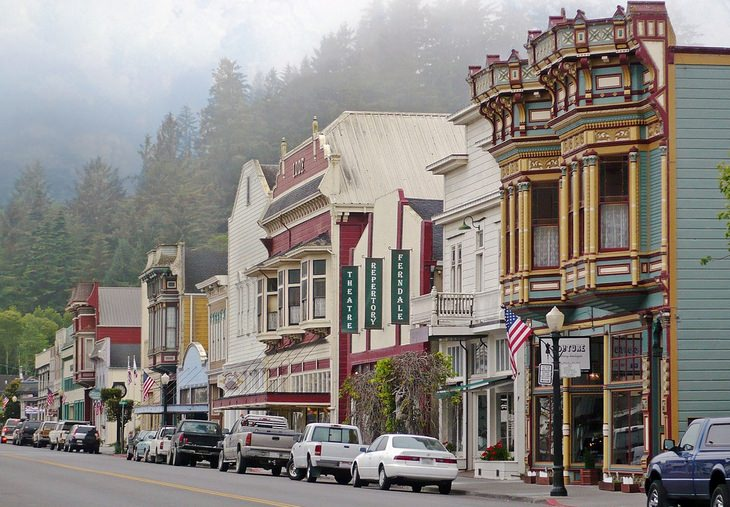 Picturesque American towns: Ferndale