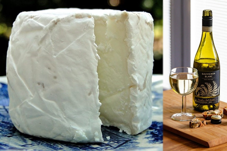 Cheese and wine pairings: goat cheese and sauvignon blanc