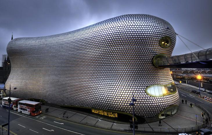 ugly buildings around the world The Selfridges Building Birmingham, England