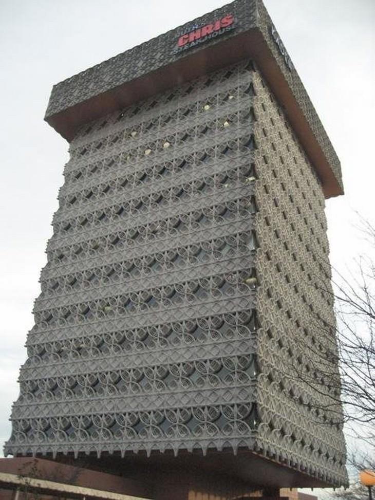 ugly buildings around the world Kaden Tower Louisville, Kentucky