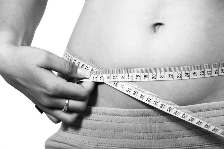 Weight loss plateau: weight circumference
