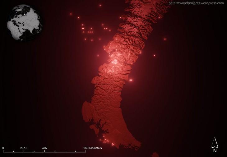 Nuclear Explosion Sites Worldwide Novaya Zemlya testing site