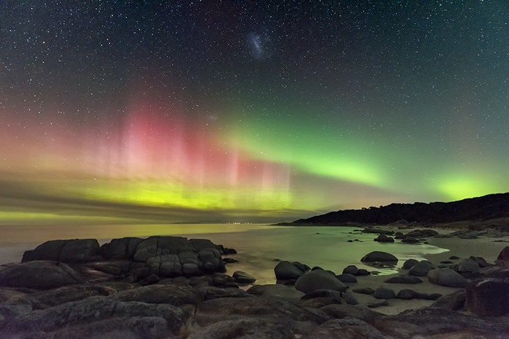 Astronomy pictures: southern lights