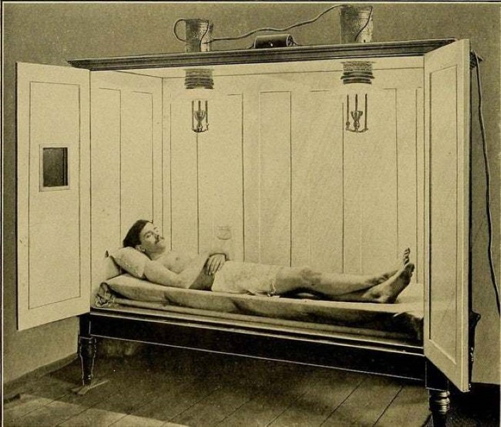 6 Weird and Creepy Medical Tools of the Past electric baths