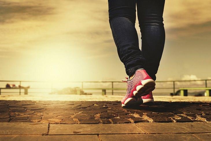 Weight loss: walking