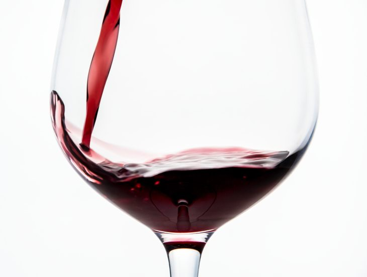red wine and gut health a glass of red wine