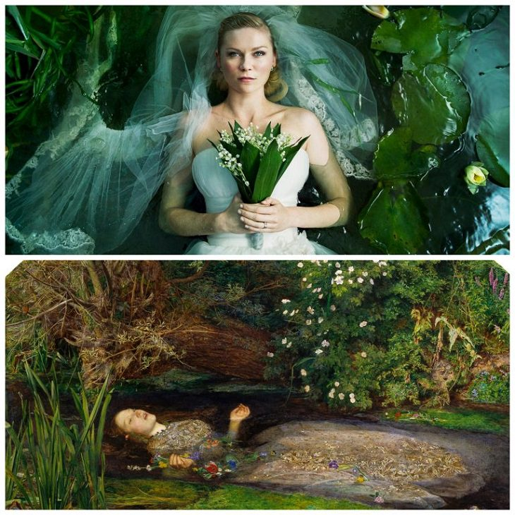 Scenes from paintings: Ophelia Melancholia