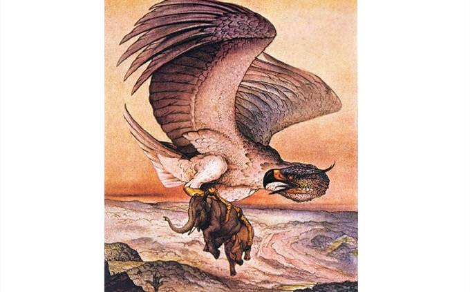 Myths: giant bird