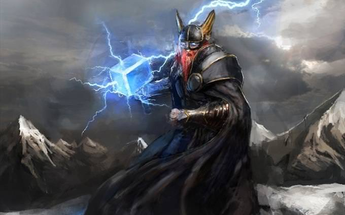 Myths: god of thunder