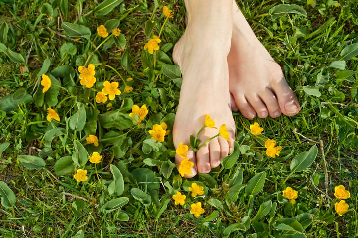 tea tree oil uses feet