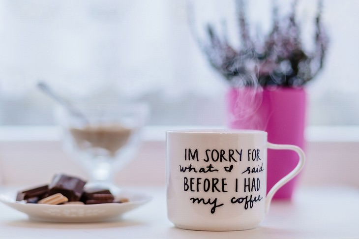 dealing with guilt grumpy in the morning cup