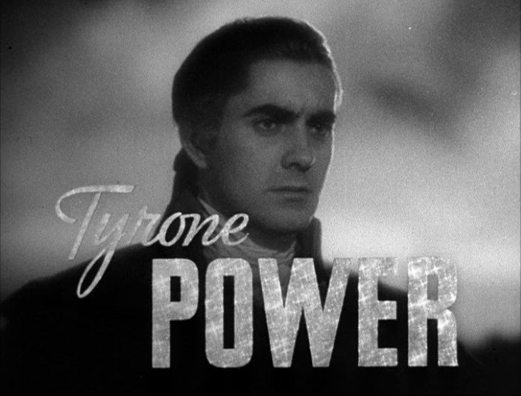 Transatlantic accent Tyrone Power
