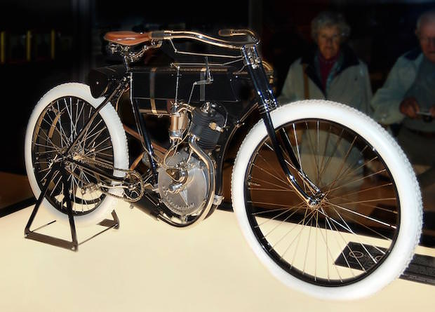 First products: Harley Davidson