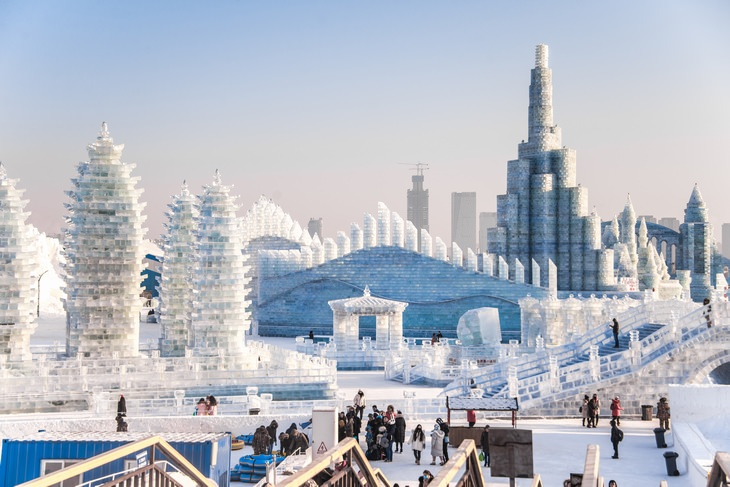 15 images from Harbin Ice and Snow Sculpture
