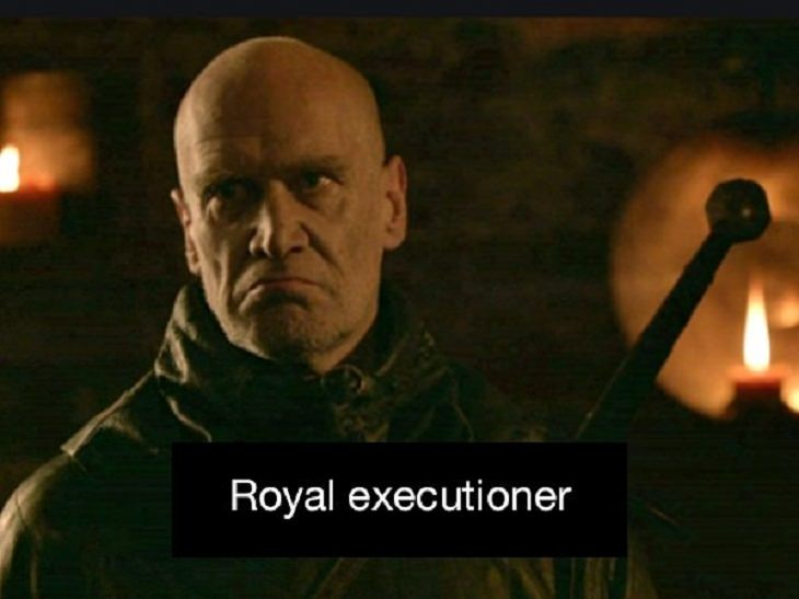 Odd Jobs Royal Executioner