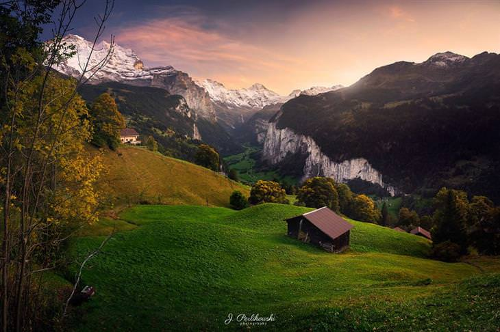 photos of Lauterbrunnental Valley