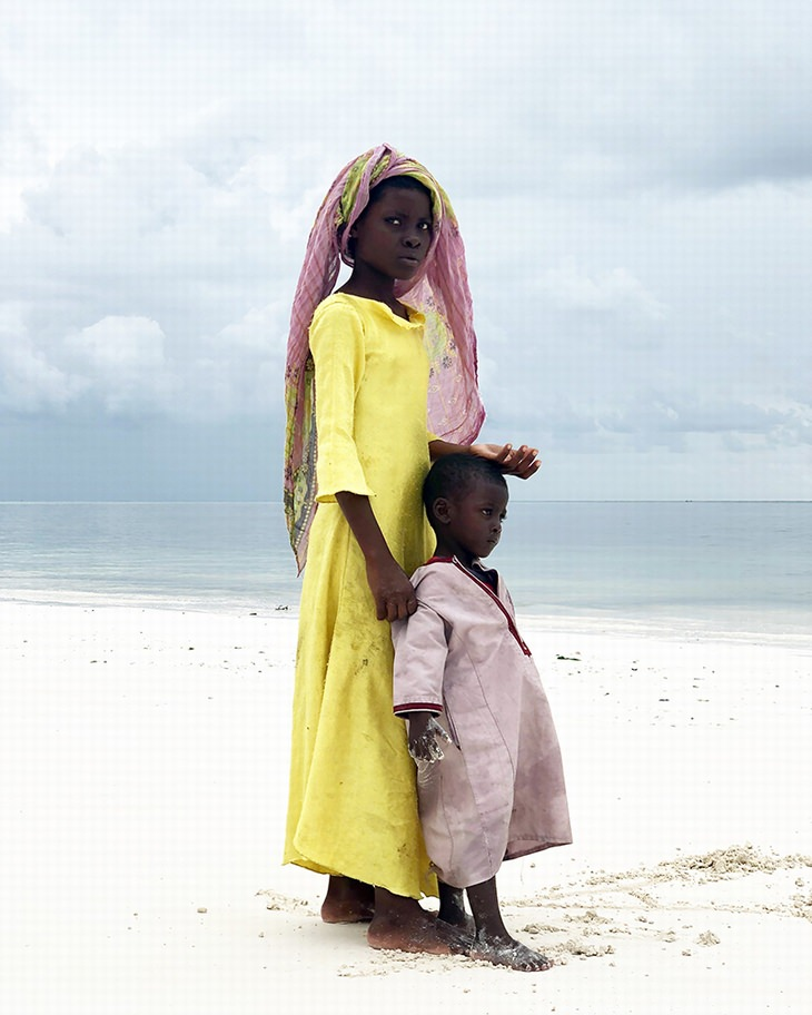 Grand Prize Winner, Gabriella Ciglianofrom Italy - Big Sister (Shot in Zanzibar, Africa)