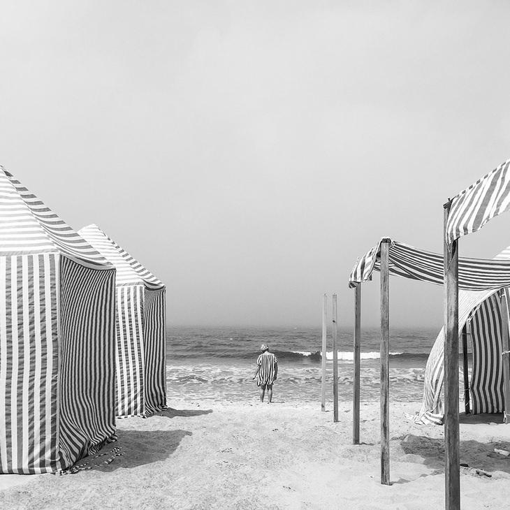 1st Place, Diogo Lagefrom Portugal - Sea Stripes (Shot in Santa Rita Beach, Portugal)