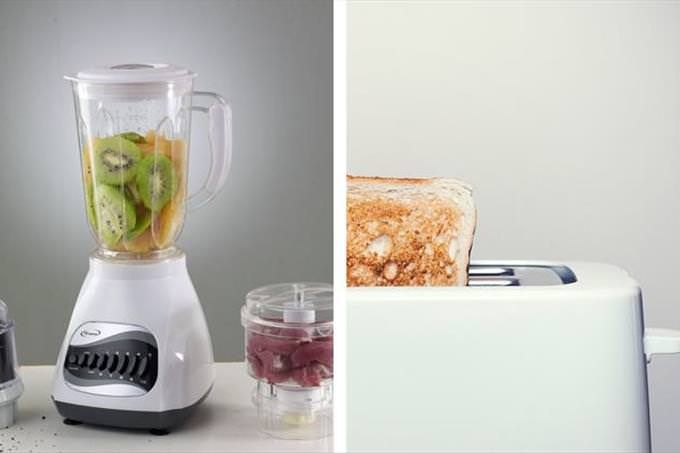 Trivia: toaster and blender