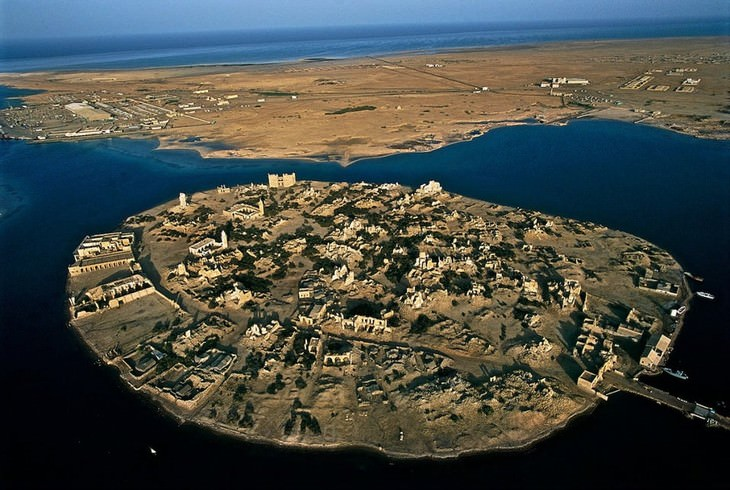 bandoned Islands and Their Histories Suakin Island in Sudan