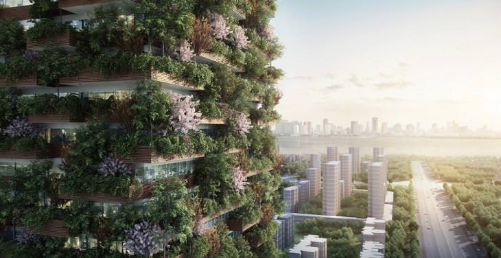 Air Pollution, Nanjing Vertical Forest