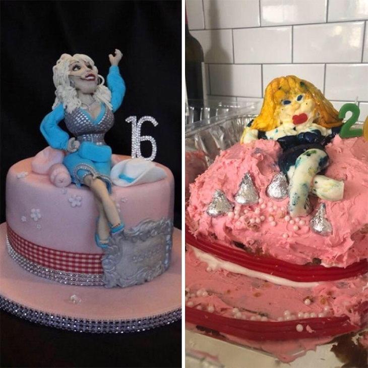 Cake Fails dolly parton
