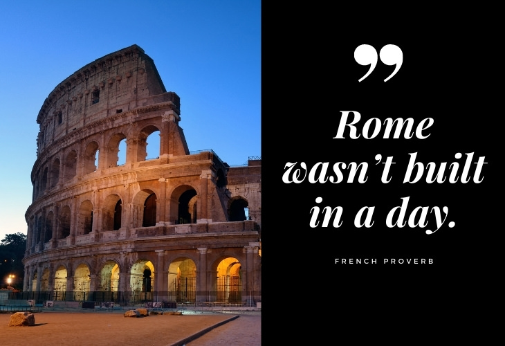 Misunderstood Quotes and Sayings rome