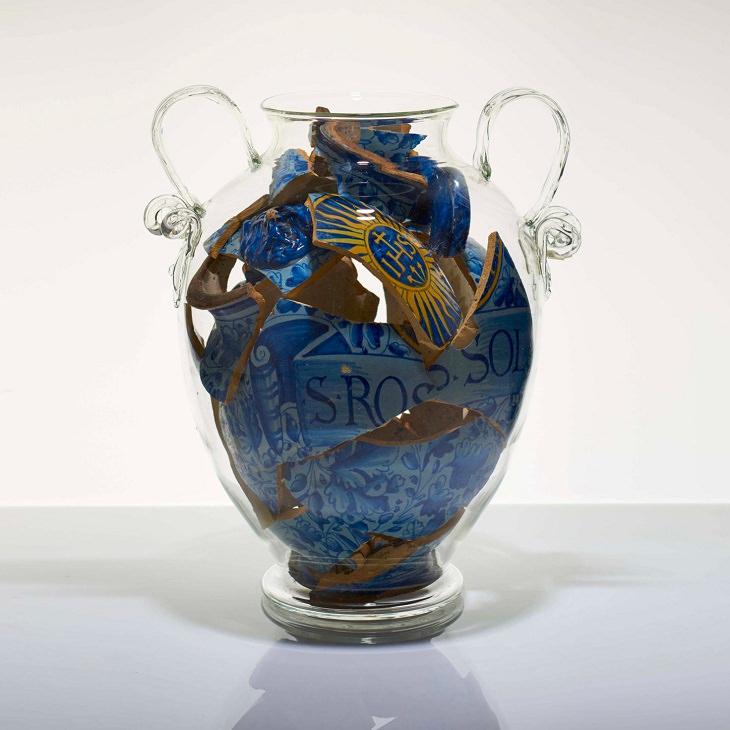 Discarded Ceramics Italian earthen ware