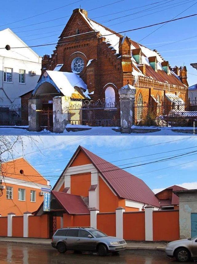 Bad Restorations Russia