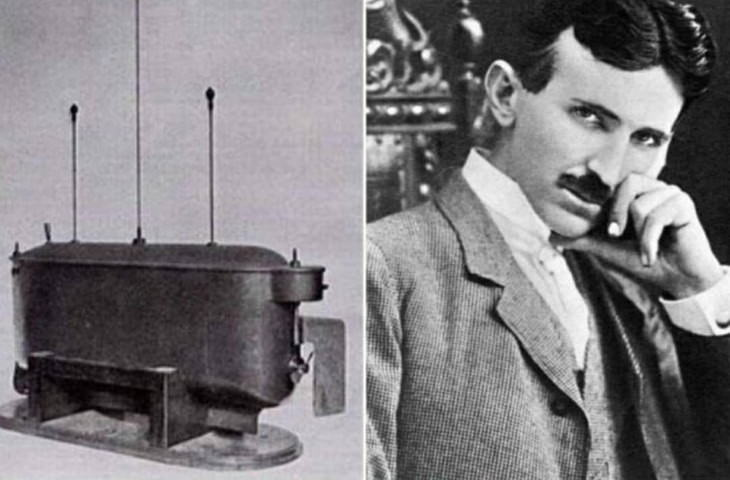 unknown inventions of famous inventors Remote Control Boat by Nikola Tesla