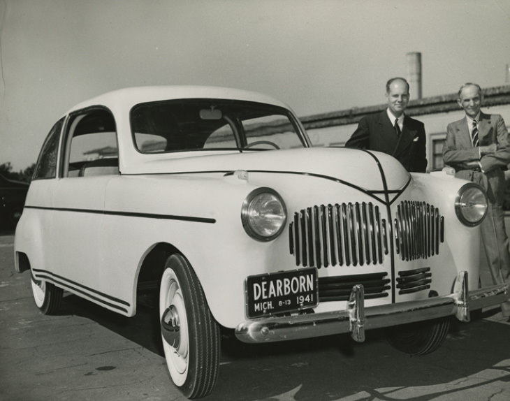 unknown inventions of famous inventors Soybean-Powered Car
