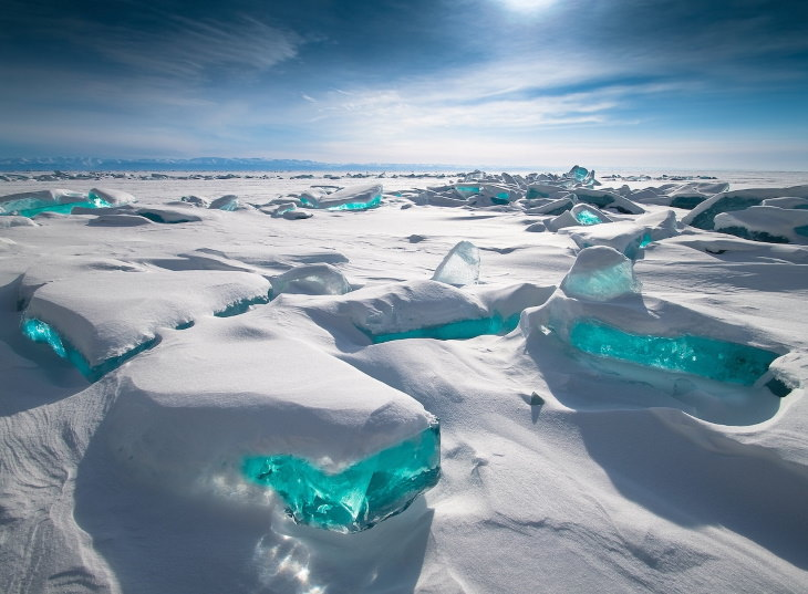 "2020 Weather Photographer of the Year Public Favorite: ""Baikal Treasure"" by Alexey Trofimov"