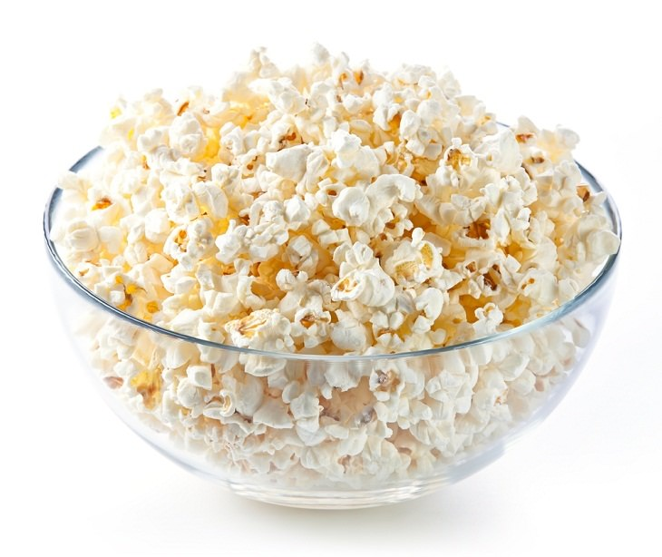 Health Benefits of Popcorn, bowl of popcorn