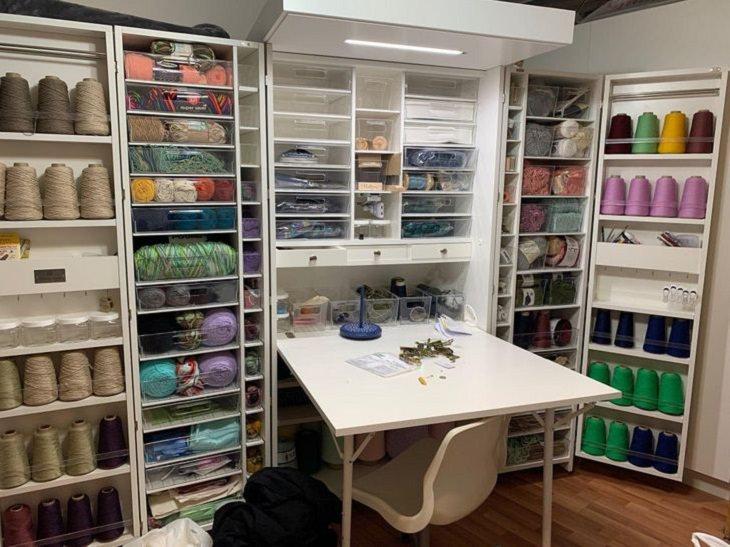 DIY Decoration, sewing room