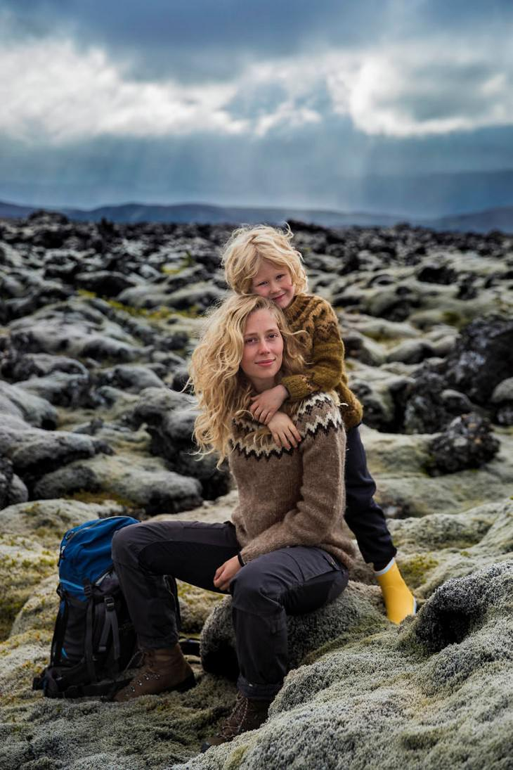 The Beauty of Motherhood in 18 Different Cultures  Andrea and her sonBenjamin, Iceland