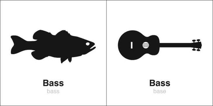 Bruce Worden Homophones, Weakly bass
