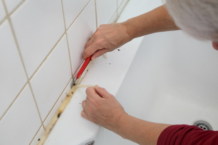 Home Maintenance Mistakes Re-caulking your bathtub