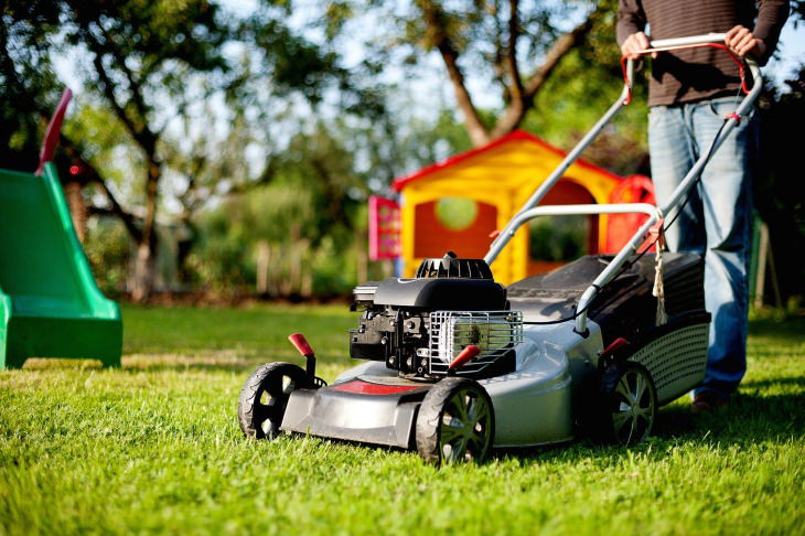 Home Maintenance Mistakes mowing the lawn