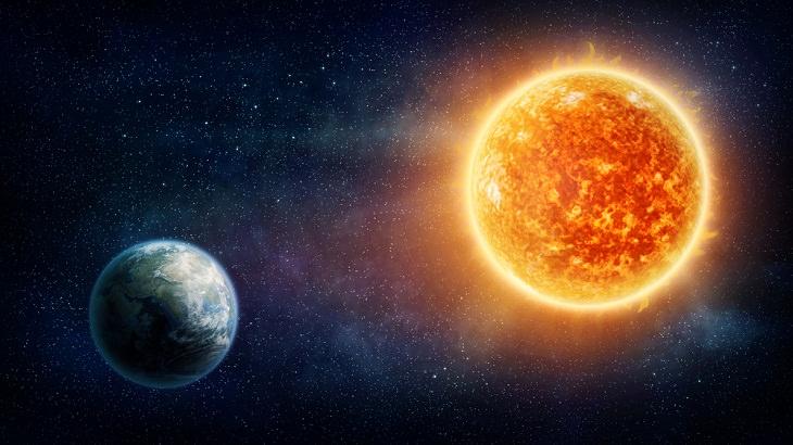 the Sun, Earths