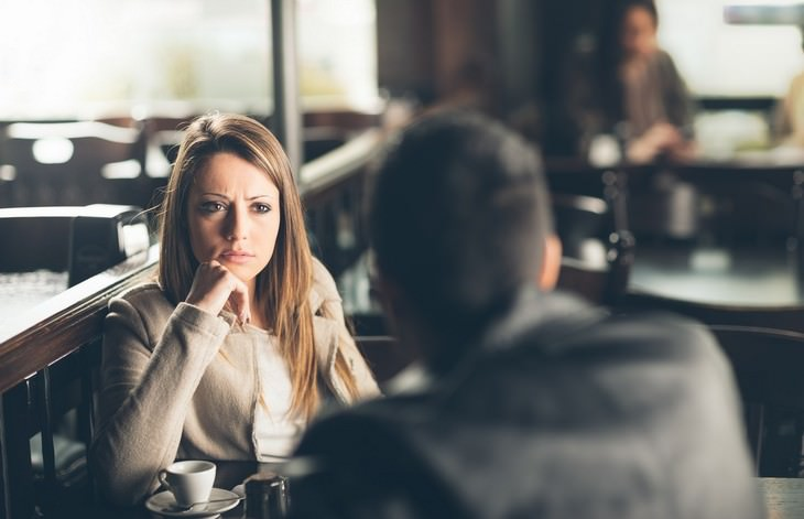 Things Not to Tell Someone Who Just Got Divorced, two friends at a restaurant