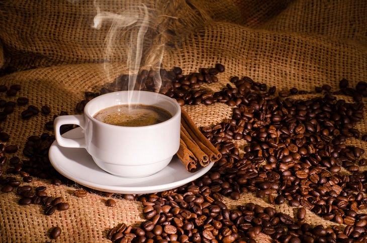 Coffee and Colon Cancer, coffee and beans