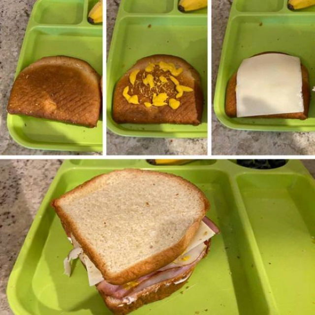Parenting Hacks the end of a bread loaf