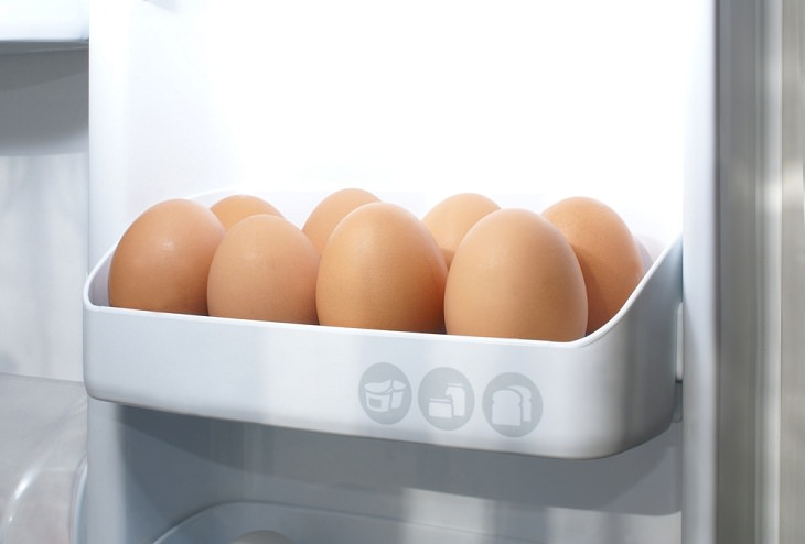 Foods You Should Never Freeze, Eggs