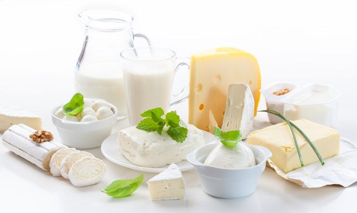 Foods You Should Never Freeze, Dairy Products