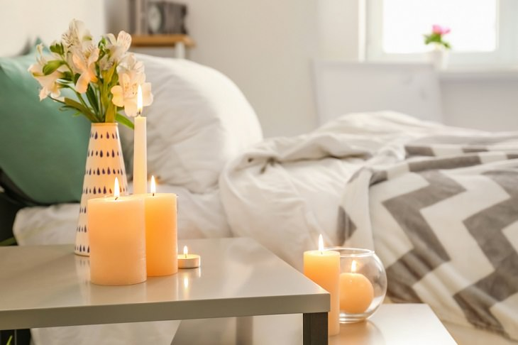 Décor Ideas, Scented candles