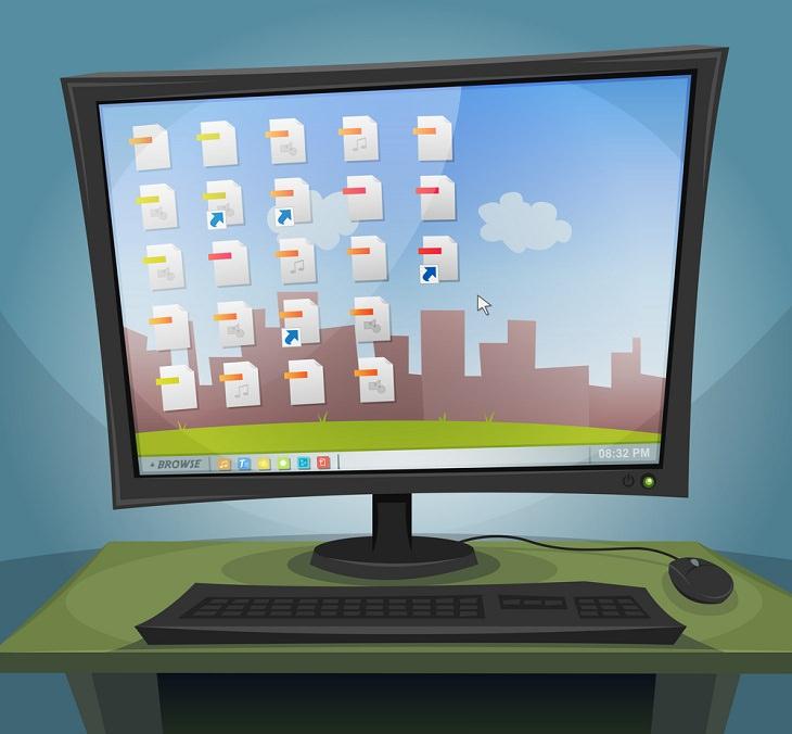 Declutter Your Computer, desktop