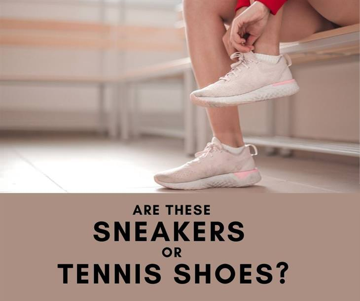 12 Funs Regional Terms Around the US, Sneakers vs. Tennis shoes