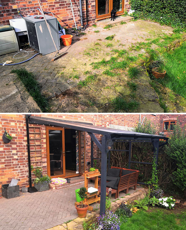 Before & After: Impressive Washing Makeovers, backyard